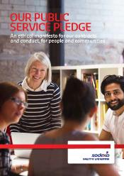 Sodexo Commits to Social Targets with Public Service Pledge